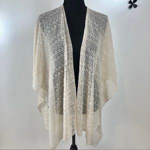NY&Co. beige cardigan. OS. In excellent condition.